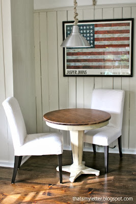 family room round game table
