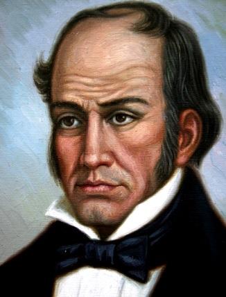 Pintura de Simón Rodríguez a colores