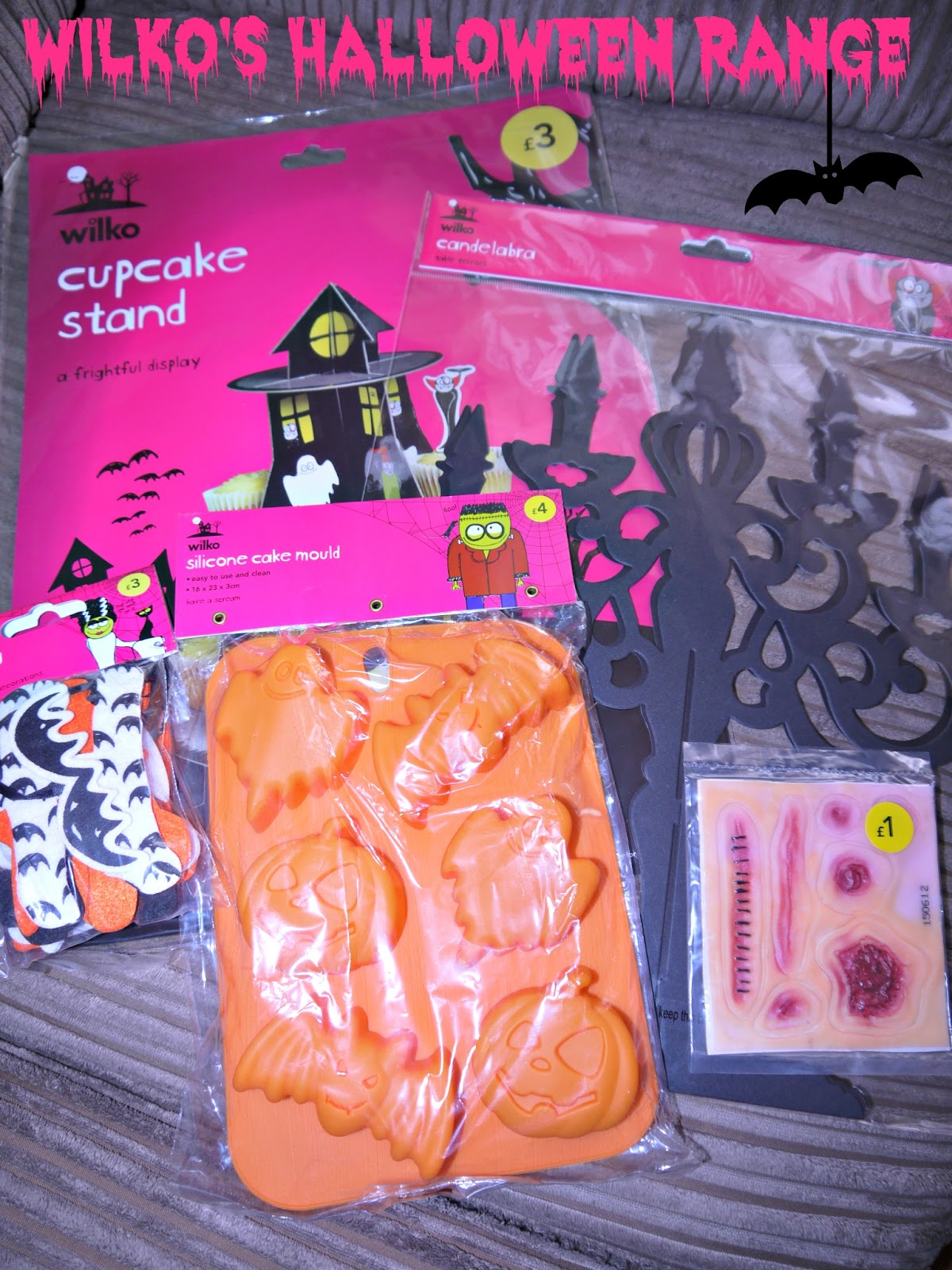 Inside the wendy house halloween at wilkinsons this year wilkos have some brilliant baking accessories the silicone cake moulds are an easy way to make really impressive halloween treats shaped like solutioingenieria Choice Image