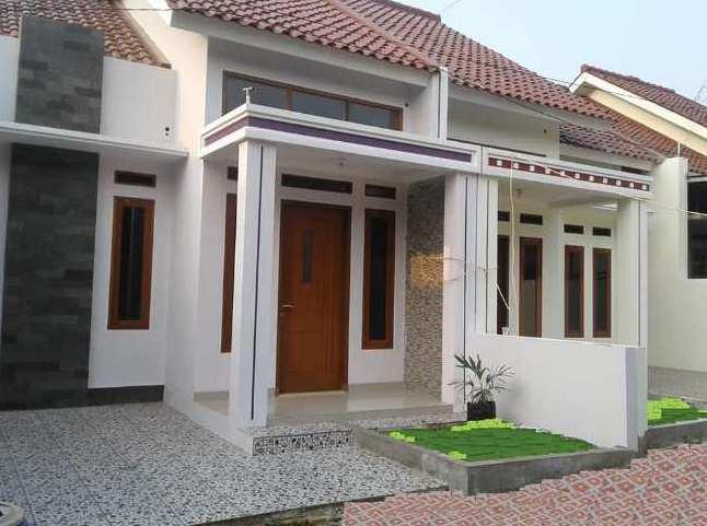 Desain tiang teras rumah minimalis type 36