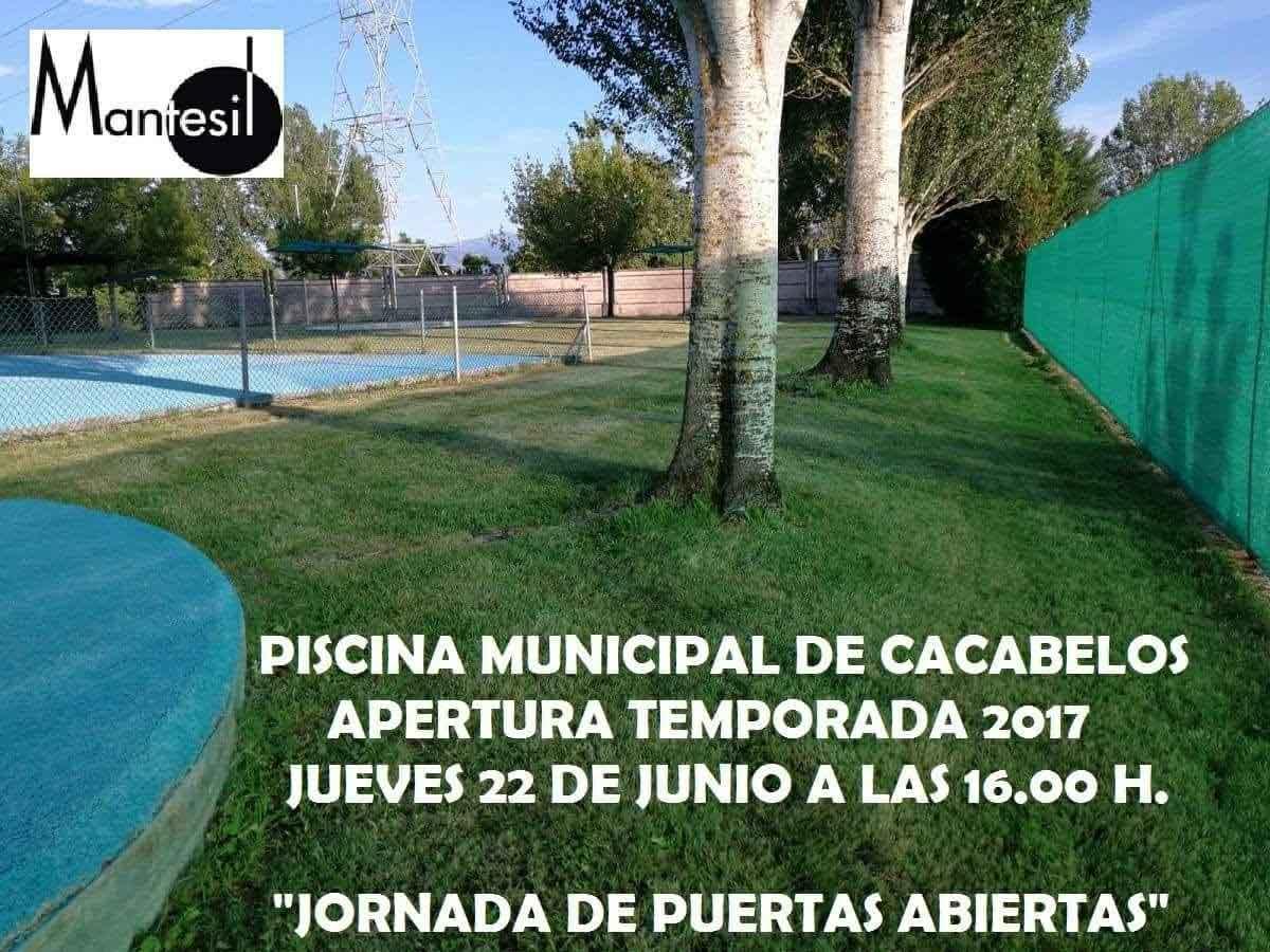 Castroventosa ma ana abre la piscina municipal for Piscina municipal fuenlabrada 2017