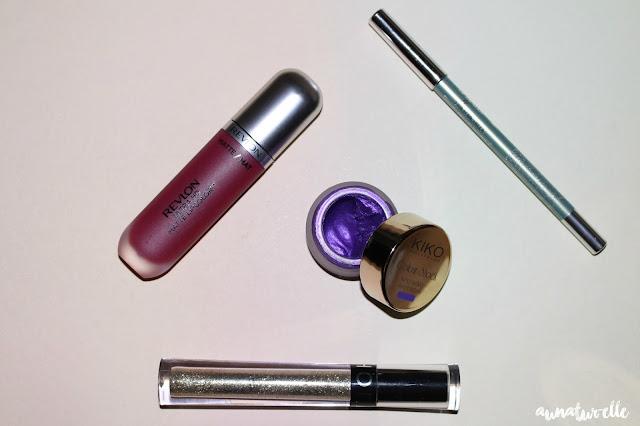 MSC - un maquillage violine parfait pour les yeux vert !