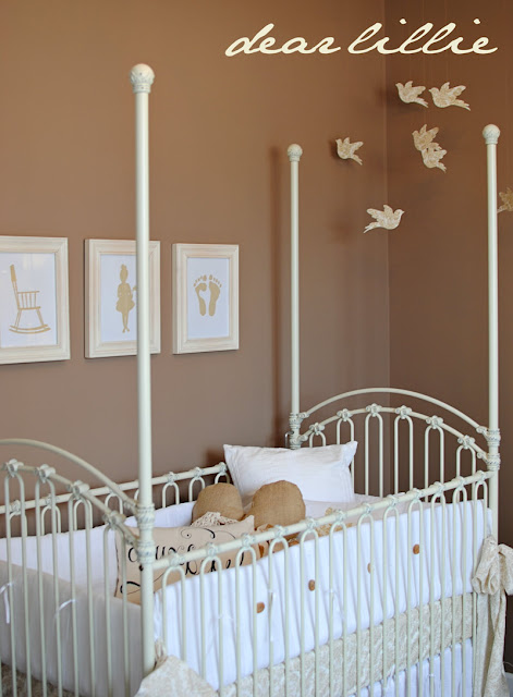 Shabby Chic Neutral Nursery Design Dazzle