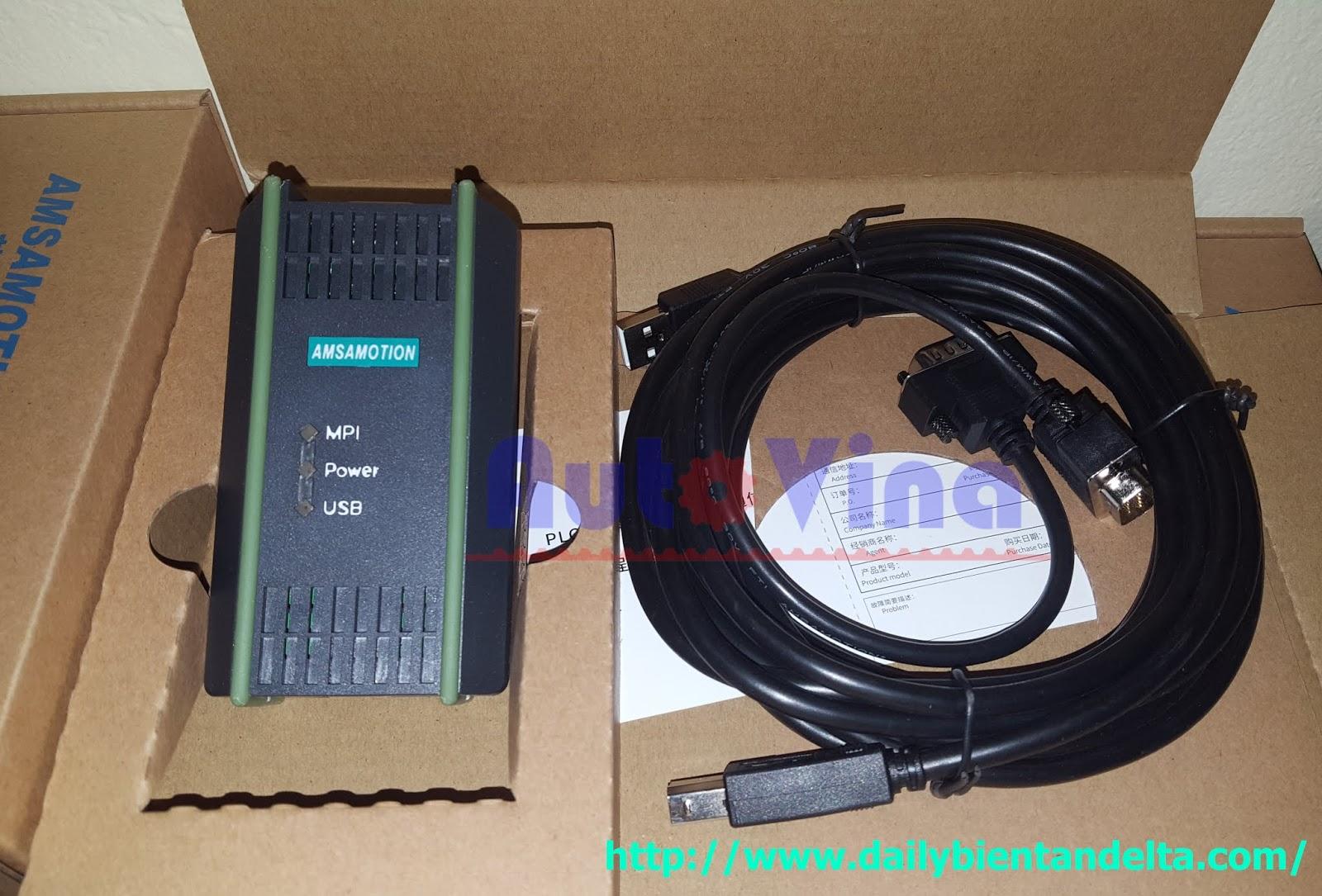 Đại lý bán cable USB PC-MPI lập trình PLC Siemens