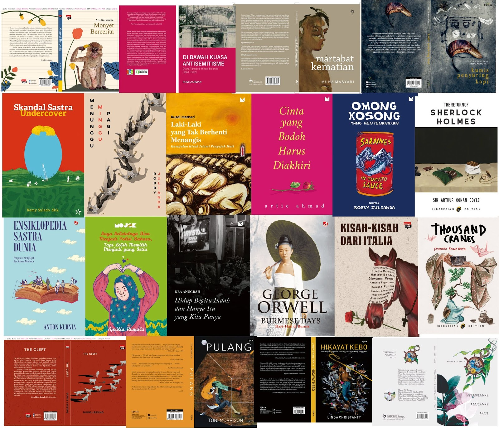 Jualan Buku Sastra  Katalog Sastra Februari 2019 b73704acfd