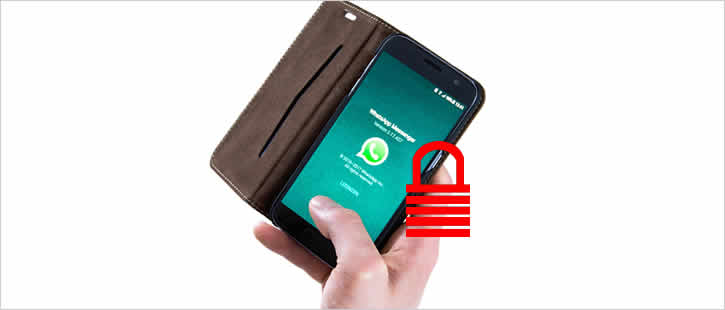 Colocando senha no aplicativo WhatsApp - Android