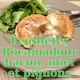 http://danslacuisinedhilary.blogspot.fr/2016/03/feuilletes-rocamadour-bacon-miel-pignons.html