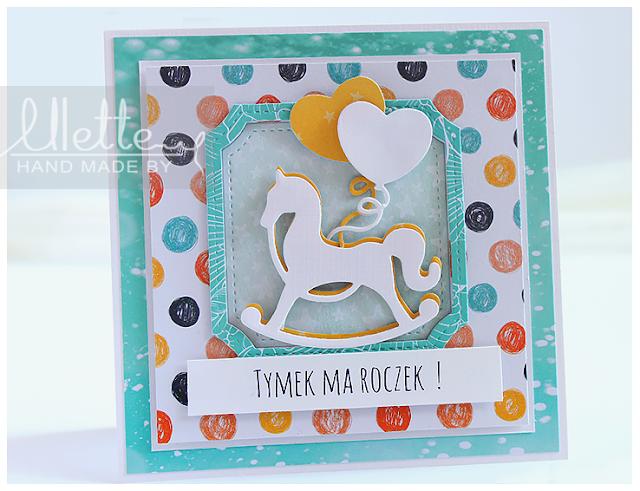 Kartka na roczek – z okazji pierwszych urodzin maluszka