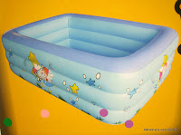 Summer Baby 180cm Square  Pool