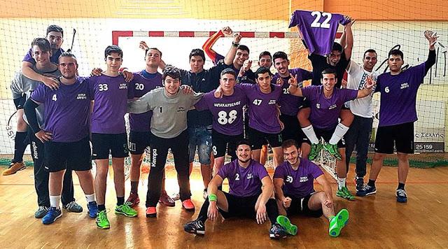 Συγχαρητήρια επιστολή προς την ομάδα χειροσφαίρισης αγοριών του 2ου ΓΕΛ Άργους