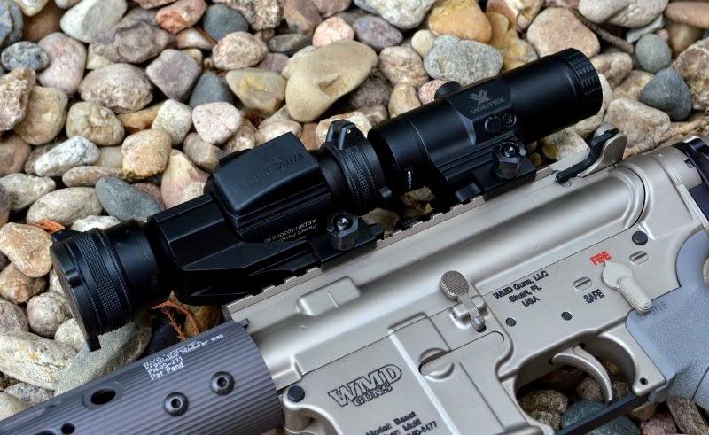 vortex optics strikefire ii redot dot tripler magnifier review