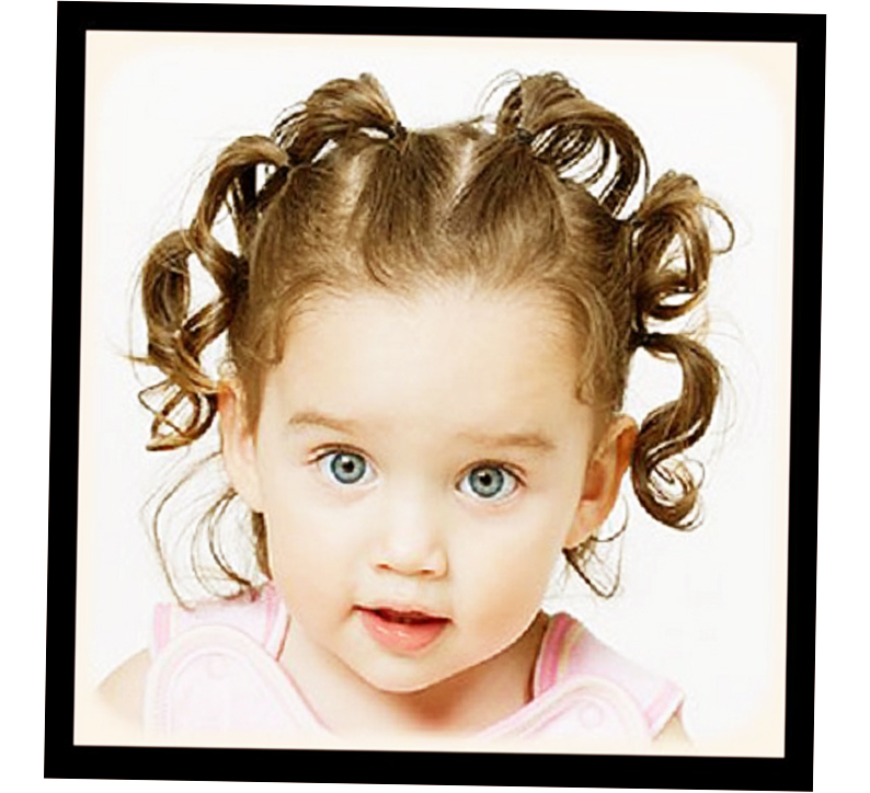 Baby Girl Hairstyles Thin Hair Photo