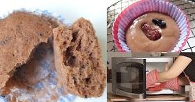 แจกสูตรเค้กนุ่มๆ ทำง่ายๆจากไมโครเวฟ หอมอร่อย