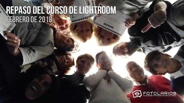 Repaso del curso de Lightroom