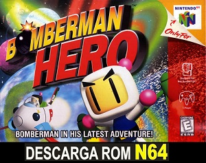 Bomberman HERO 64 64 ROMs Nintendo64