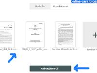 Cara Gabung PDF Online