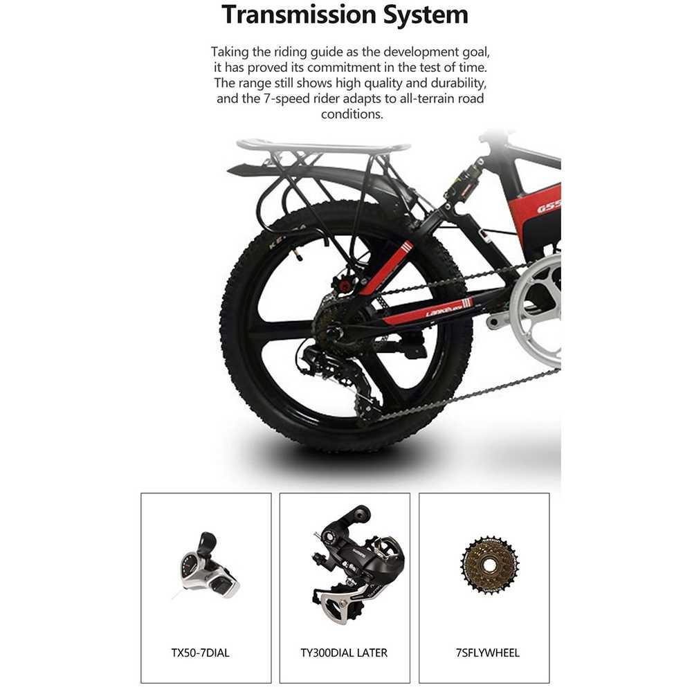 Sepeda Lipat Tipe Transmission Gear