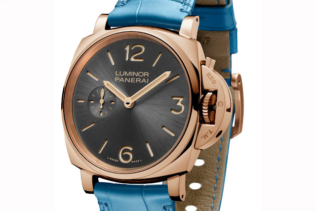 PANERAI LUMINOR DUE 3 DAYS ORO ROSSO frontal blog debajo del reloj