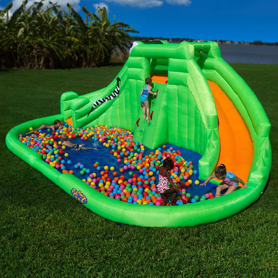 Inflatable Water Slides Blast Zone Crocodile Isle