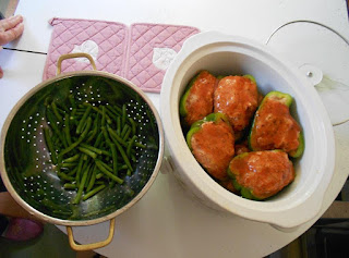 Crock Pot stuffed peppers and green beans.jpeg