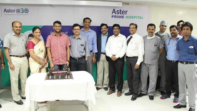 Aster Prime felicitates Telangana State Topper of National Eligibility Entrance Test (NEET)