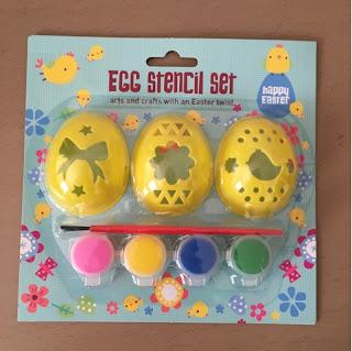 Egg stencil set