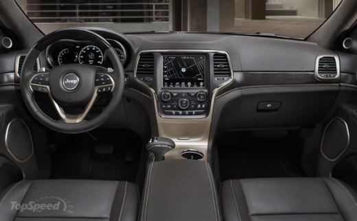 2017 Jeep Grand Wagoneer Interior
