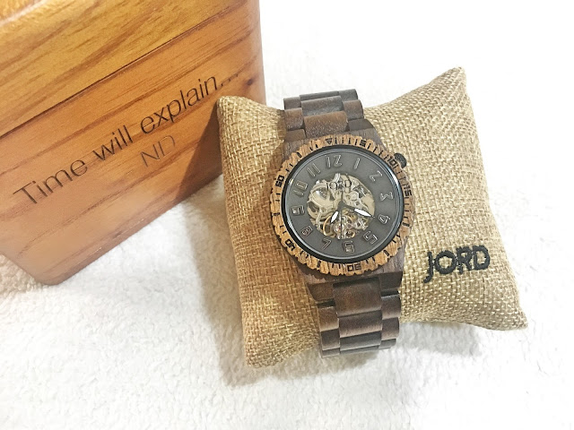 ND rocks his JORD Watch and a Giveaway