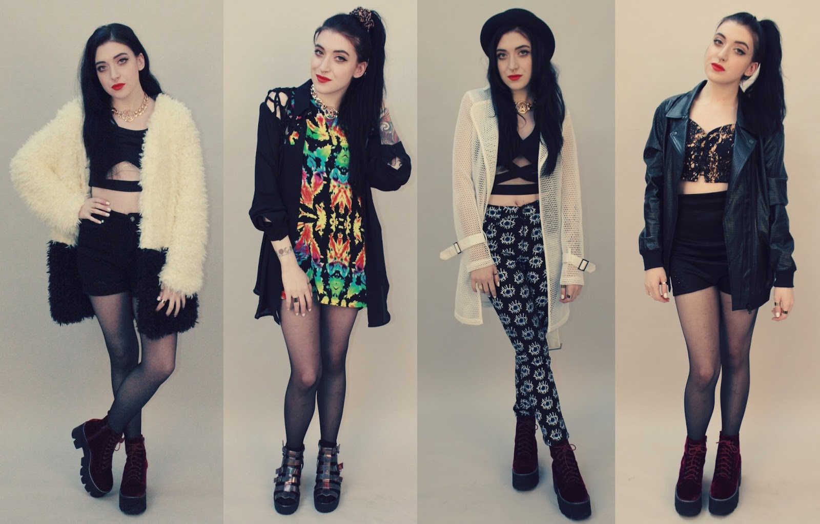 Cagecity Meets Photoshoot Outfits Amp Blogger Fun