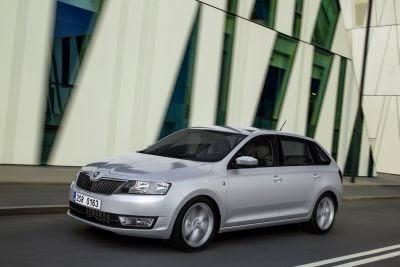 Noua ŠKODA Rapid Spaceback