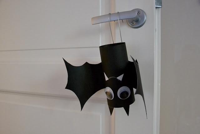 Halloween, askartelu, lepakko