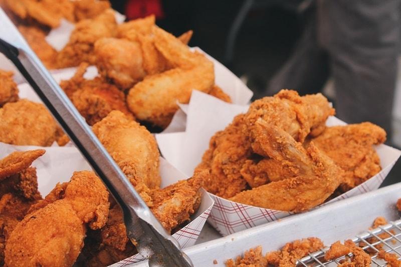 เปิดร้านขายไก่ทอด อาชีพเสริม
