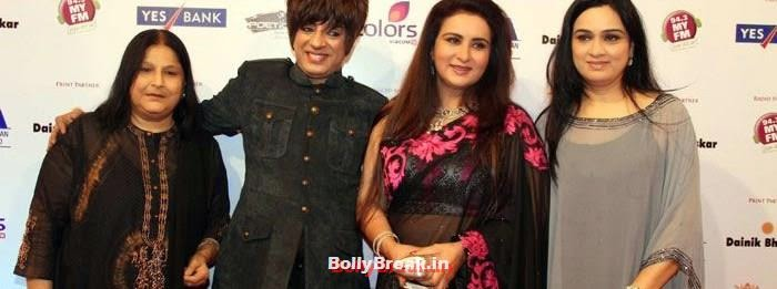 Rohit Verma, Poonam Dhillon, Padmini Kolhapure, International Indian Achiever's Awards Photo Gallery