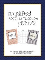 Simplified Speech Therapy Planner