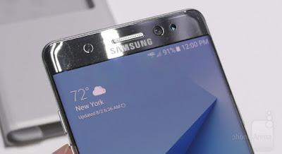 Cámara Samsung Galaxy Note7