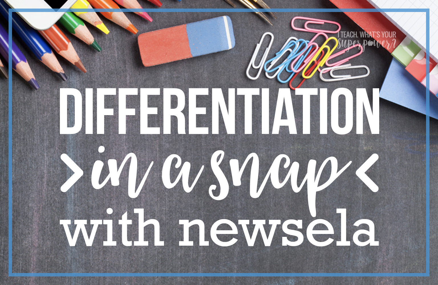 Differentiation is easy with Newsela.  One click changes the readability level of the high interest articles on this free site.
