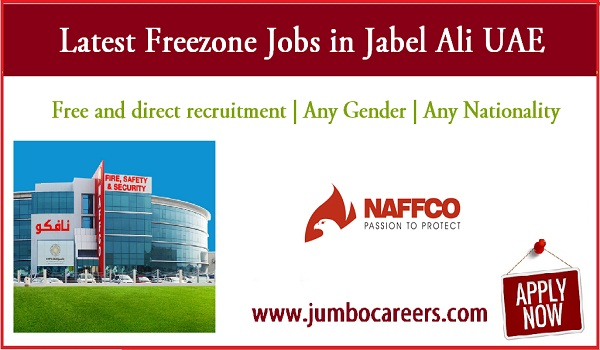 Freezone job vacancies in UAE for Indians, Urgent UAE jobs with salary,