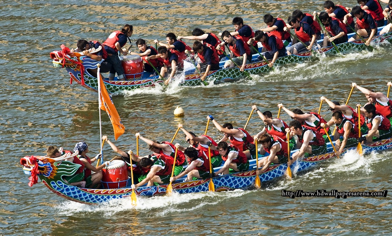 My Thoughts In Rhyme The Dragon Boat Festival The