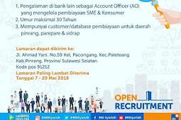 Lowongan Kerja Bank BRI Syariah Account Officer