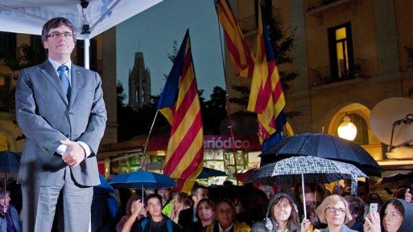 Puigdemont exige a España la liberación de políticos catalanes
