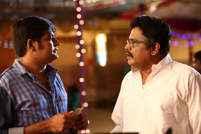 Actors K.S.Ravikumar and Sathish in Rekka