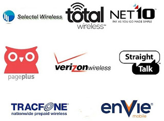 Verizon and Verizon MVNO Logos
