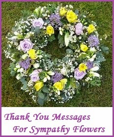 appreciation messages and letters bereavement