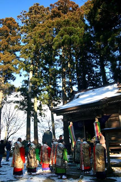 Nonotake-Hakusan Festival (Mt. Nono Ceremony) at Konbouji Temple, Wakuya Town, Miyagi