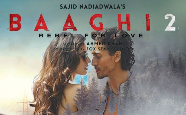 Baaghi 2 new upcoming movie first look, Poster of Tiger Shroff, Disha Patani download first look Poster, release date