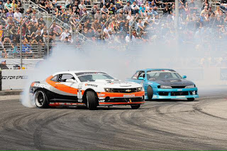The international official drifting races