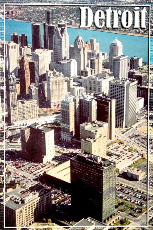 Detroit miasto w USA