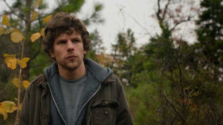 Jesse Eisenberg plays the paranoid Josh in Kelly Reichardt's Night Moves.