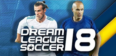 Dream League Soccer 2018 Mod Apk+Data v5.056 Unlimited Money/Gold Coins