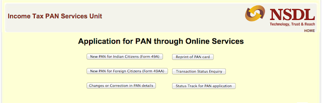 know pan application form